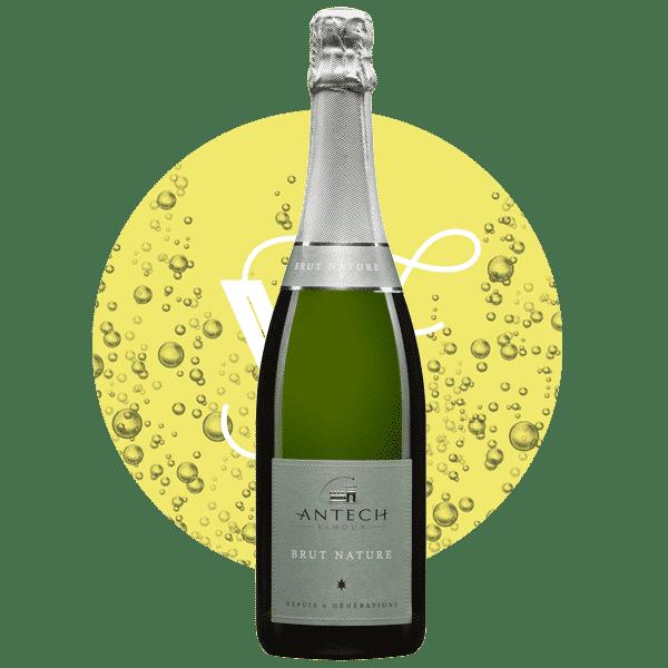 Brut Nature , Vin Blanc de Languedoc