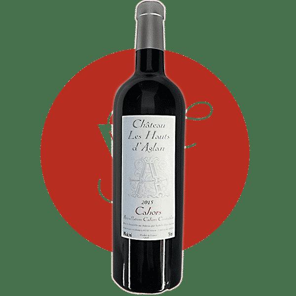 Les Hauts d'Aglan Cuvée A 2015, Vin Rouge de Sud_Ouest