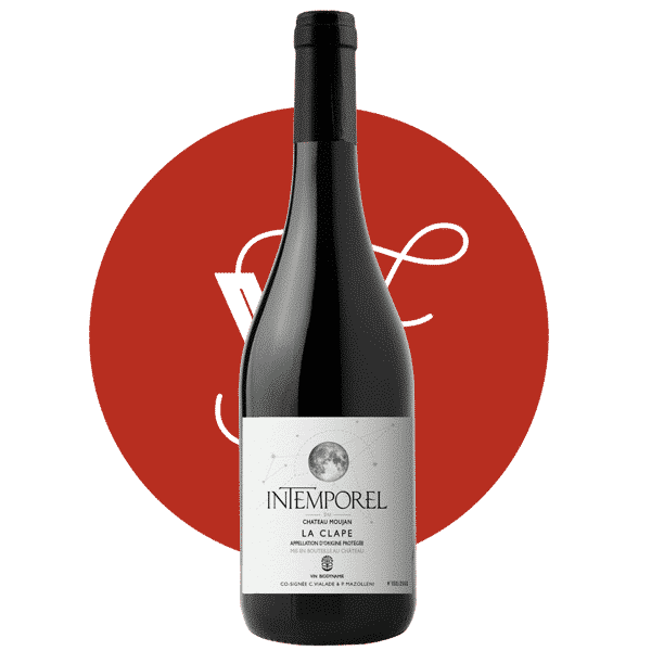 Château Moujan Intemporel 2018, Vin Rouge de Languedoc