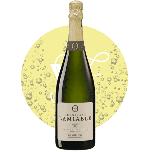 Souffle d'étoiles Extra Brut , Vin Blanc de Champagne