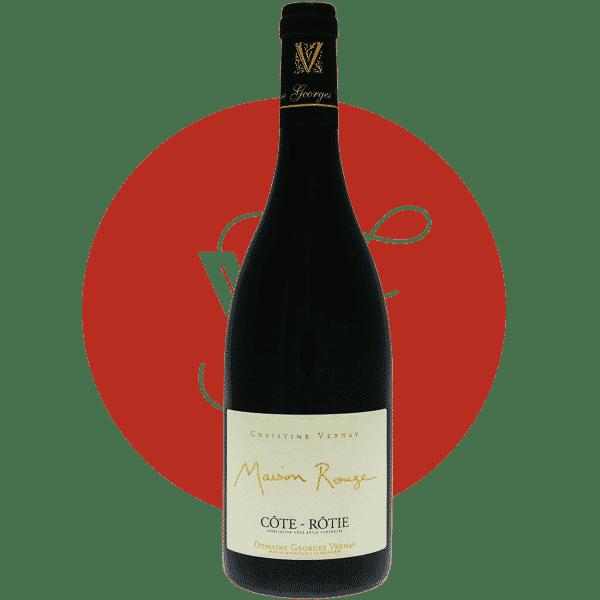 Maison Rouge 2017, Vin Rouge de Rhone