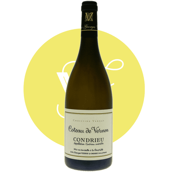 Coteau de Vernon 2018, Vin Blanc de Rhone