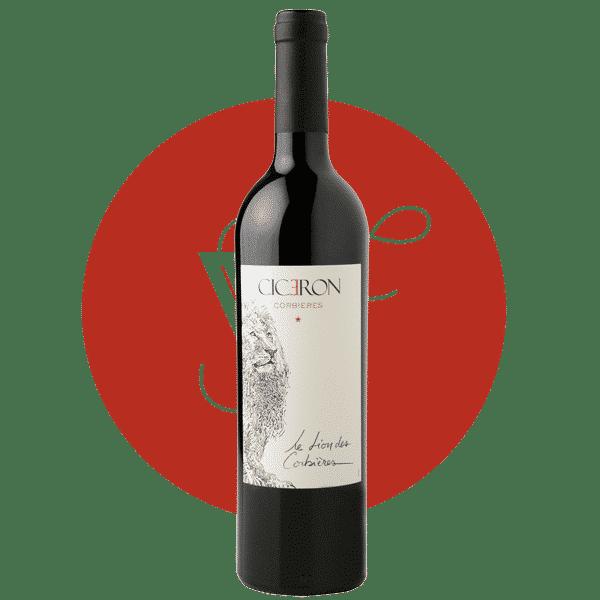 Lion des Corbières rouge 2018, Vin Rouge de Languedoc