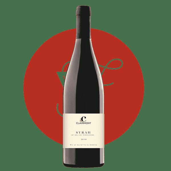 Les Palais Syrah 2018, Vin Rouge de Rhone