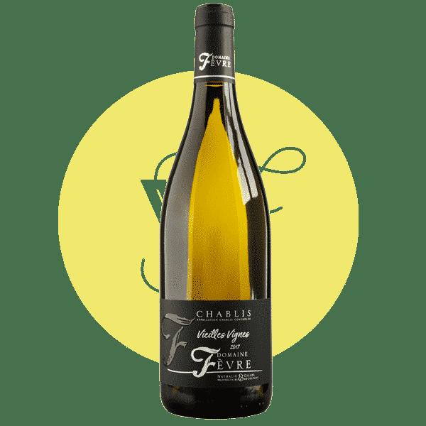 Chablis Vieilles Vignes 2018, Vin Blanc de Bourgogne