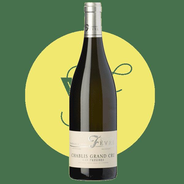 Les Preuses Chablis Grand Cru 2018, Vin Blanc de Bourgogne