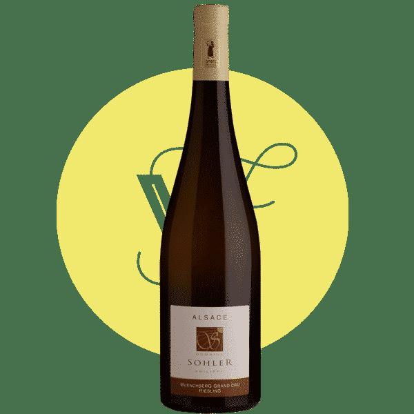 Riesling Munchberg 2015, Vin Blanc de Alsace