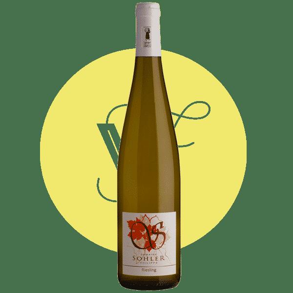 Riesling 2017, Vin Blanc de Alsace