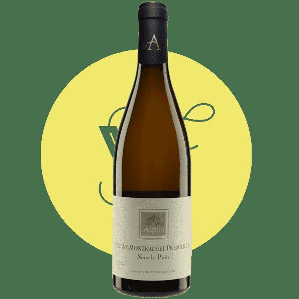 Puligny Montrachet 1er Cru « Sous le Puits » 2018, Vin Blanc de Bourgogne