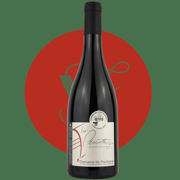 Les Perrottes 2016, Vin Rouge de Rhone