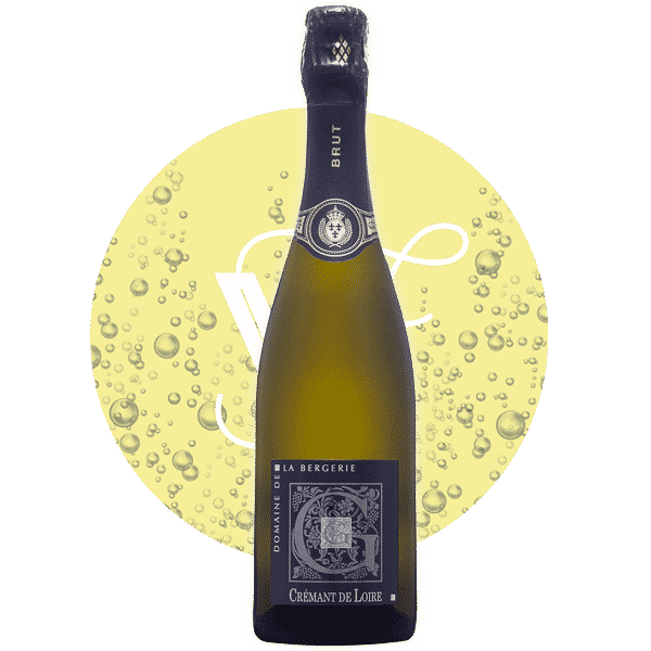 Crémant de Loire Brut , Vin Rose de Vallee_de_La_Loire