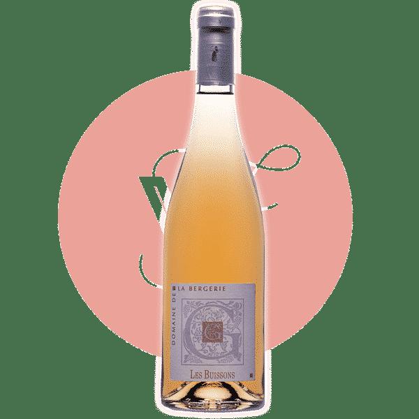 Les Buissons 2019, Vin Rose de Vallee_de_La_Loire