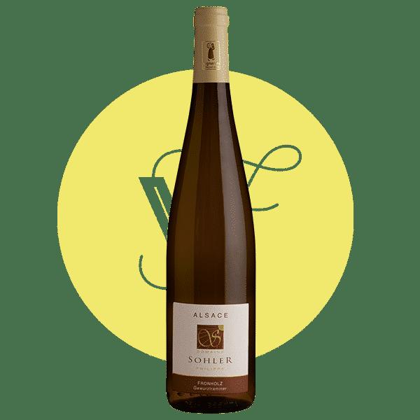 Gewurztraminer Fronholz 2018, Vin Blanc de Alsace
