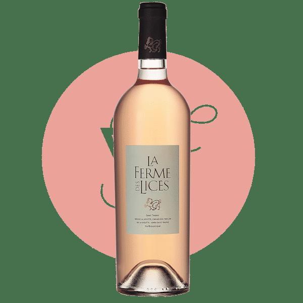 La Ferme des Lices Rosé 2019, Vin Rose de Provence