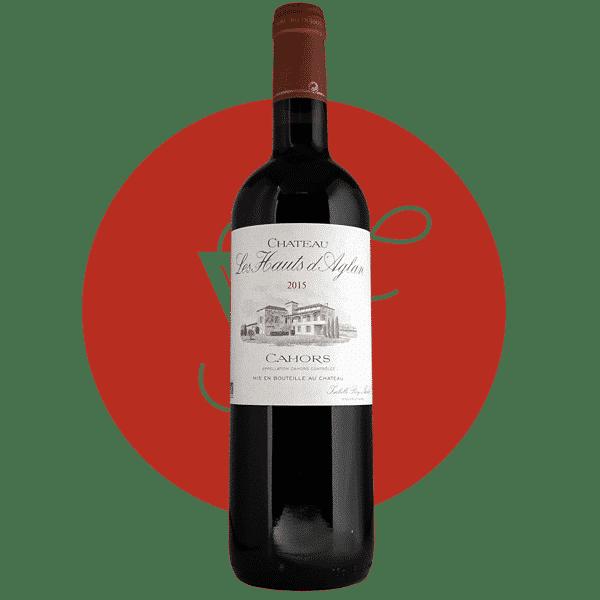 Les Hauts d'Aglan 2015, Vin Rouge de Sud_Ouest
