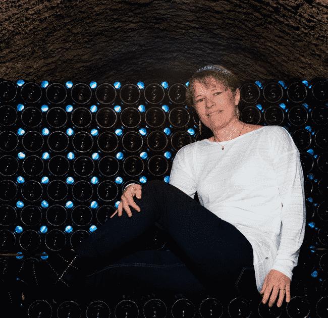 Champagne Lamiable portrait de Ophélie Lamiable