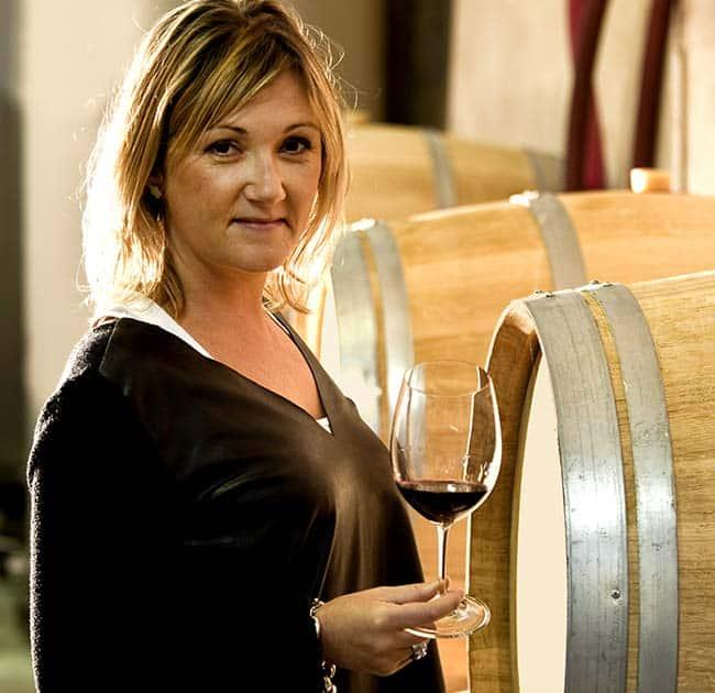 Château La Fleur Plaisance portrait femme vigneronne Séverine Erésué