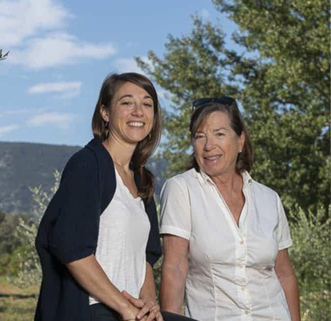 Domaine La Royère portrait d'Agnès et Anne Hugues