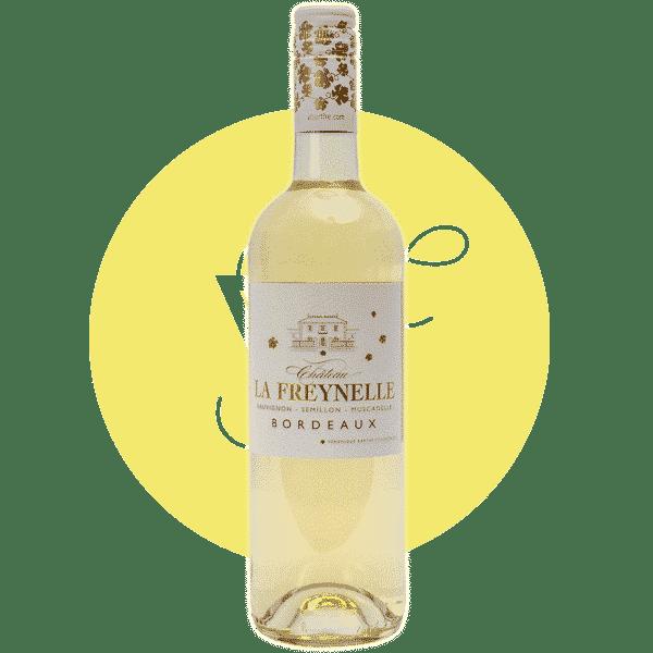 La Freynelle Blanc 2019, Vin Blanc de Bordeaux