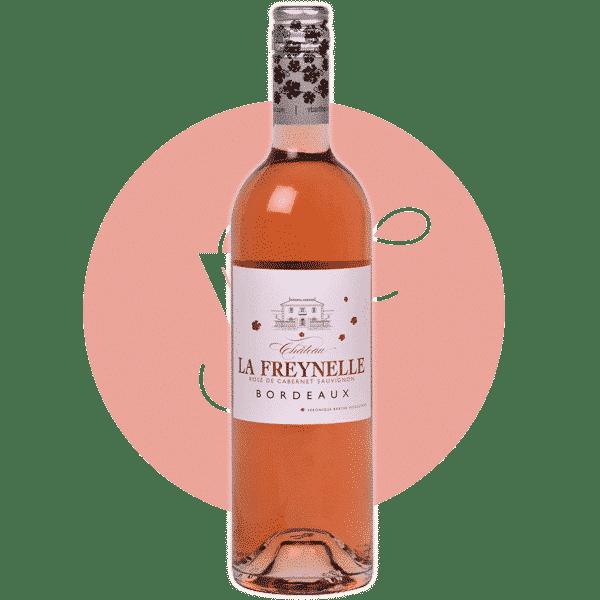 La Freynelle Rosé 2019, Vin Rose de Bordeaux
