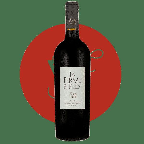 La Ferme des Lices Rouge 2012, Vin Rouge de Provence
