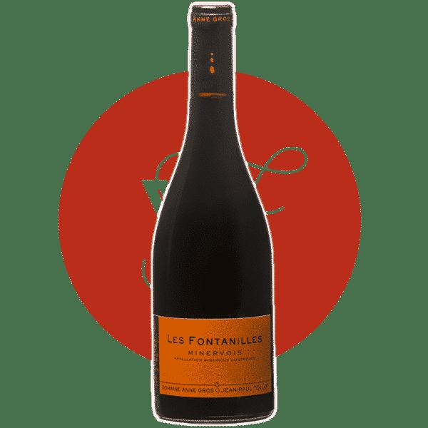 Vin rouge par Anne Gros - Les Fontanilles