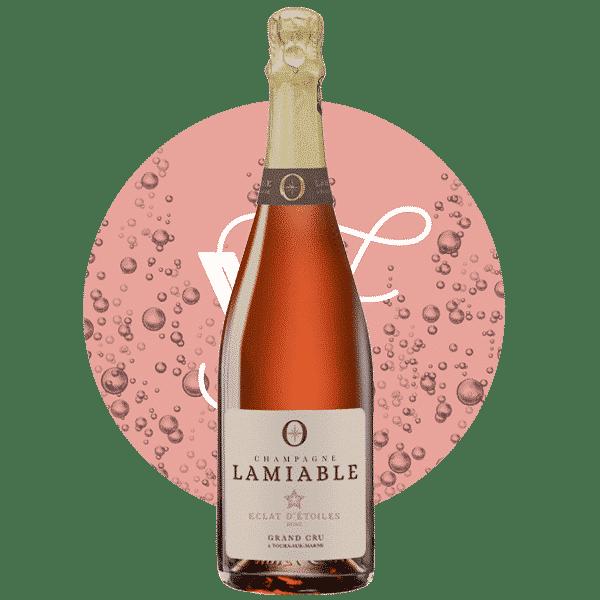 Champagne Lamiable Eclat d'étoiles Brut rosé