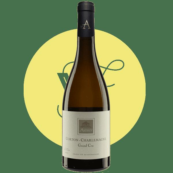 Corton charlemagne Grand Cru - Photo bouteille - Domaine viticole d'Ardhuy