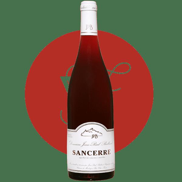 Sancerre rouge Domaine viticole JP Balland photo bouteille
