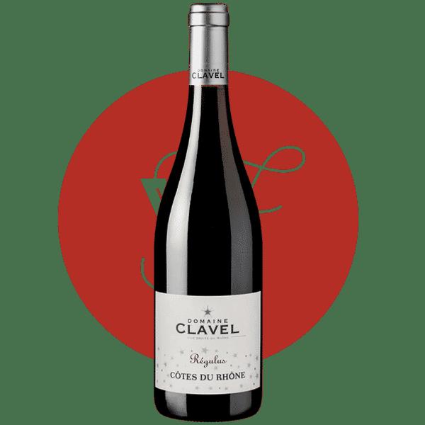 Photo bouteille Domaine Clavel Régulus rouge AOC Côtes du Rhône